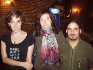 Fotografía realizada en la entrevista de Ada Salas por nuestros colaboradores