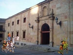 Don Quijote, Sancho y nuestro lazarillo pasean por Anayita.